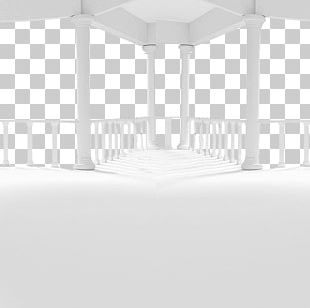 Light Black And White Building PNG