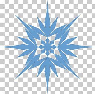 Anna Elsa Snowflake Drawing PNG