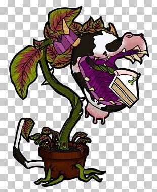 Illustration Purple Flower Animal PNG