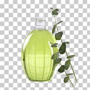 Glass Bottle Sodium Bicarbonate Liquid Water PNG