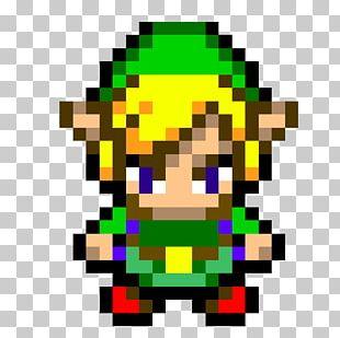 Link 16 Bit Pixel Art The Legend Of Zelda Png Clipart 8