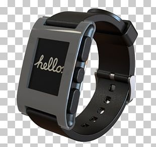 Pebble Time Smartwatch Wearable Technology PNG