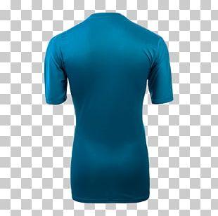 Shoulder Turquoise Shirt PNG