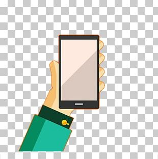 Mobile Phone Hand PNG