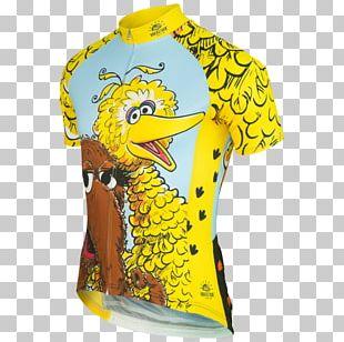 T-shirt Big Bird Mr. Snuffleupagus Elmo Cookie Monster PNG