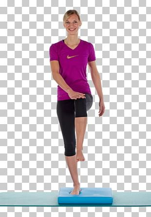 Physical Fitness Balance-Board Toning Exercises PNG