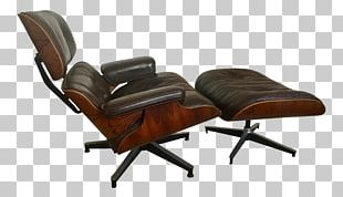 Eames Lounge Chair Couch Charles And Ray Eames Foot Rests PNG