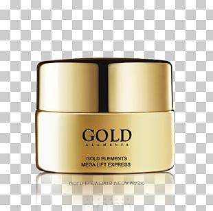 Cream Skin Care Gold Chemical Element PNG