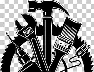 Handyman Logo Home Repair Home Improvement PNG