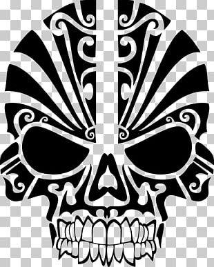 T-shirt Skull Tribe PNG