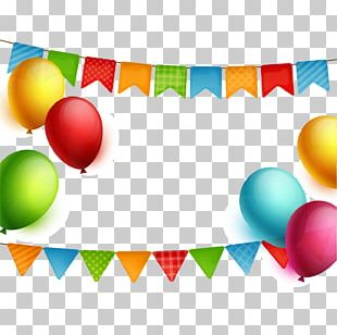Happy Birthday To You Party Balloon PNG