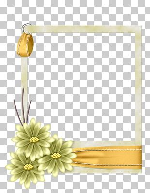 Borders And Frames Paper Frames Flower PNG