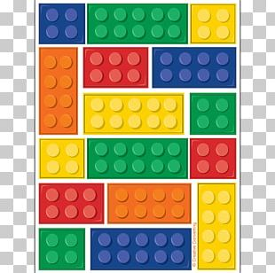 Party Favor Toy Block LEGO Birthday PNG