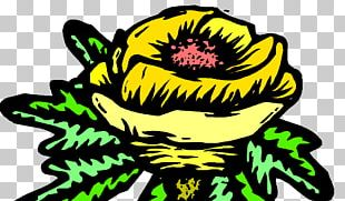 Character Cartoon Flowering Plant PNG
