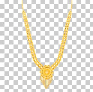 Jewellery Necklace Earring Chain Gold PNG