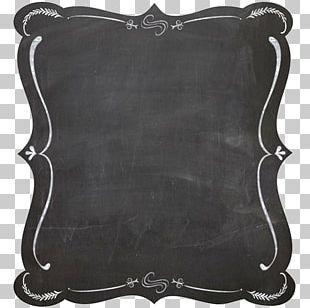 Blackboard Frame Chalk PNG