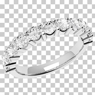 Wedding Ring Diamond Brilliant Gold PNG