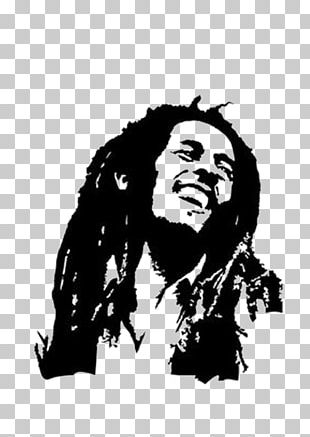 Bob Marley Wall Decal Sticker Drawing PNG