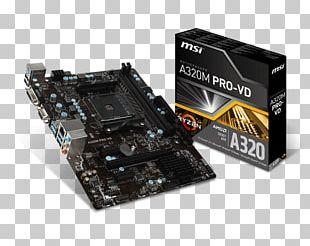 Socket AM4 Motherboard ASROCK A320M AMD AM4 Micro-Star International MicroATX PNG