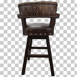 Bar Stool Chair Furniture Armrest Seat PNG