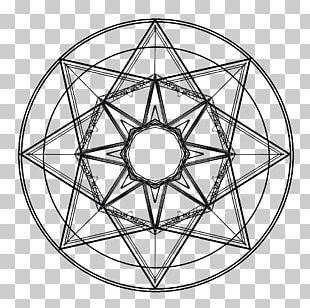 Sacred Geometry Symbol Circle Mandala PNG