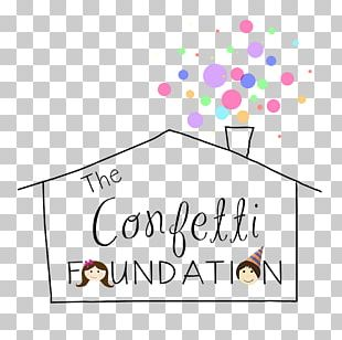 Confetti Foundation Birthday Party Child Gift PNG