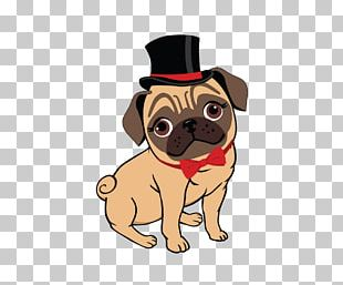 Pug Puppy Canidae Toy Dog Logo PNG