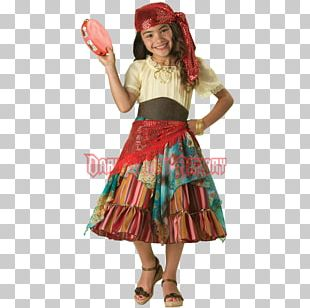 Halloween Costume Child Romani People Costume Party PNG