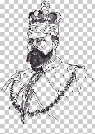 Beard Homo Sapiens Line Art Sketch PNG