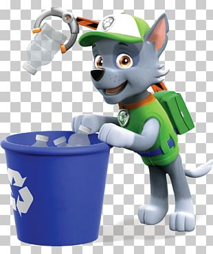 Puppy Recycling Rocky PNG
