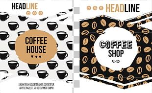 Coffee Cafe Poster PNG