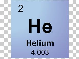 Periodic Table Symbol Helium Chemical Element Gas PNG