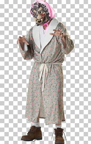 Big Bad Wolf Costume Party Halloween Costume Robe PNG
