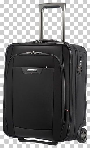 SAMSONITE Backpack PRO DLX4 14 Black Suitcase Baggage Hand Luggage PNG