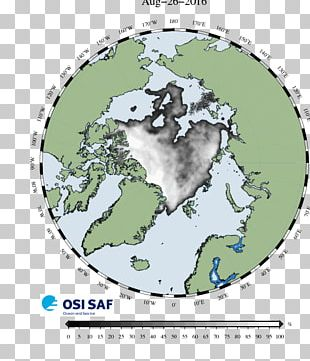 Arctic Ocean Northern Hemisphere Earth Sea Ice Rotating Reference Frame PNG