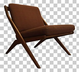 Eames Lounge Chair Furniture Danish Modern Couch PNG