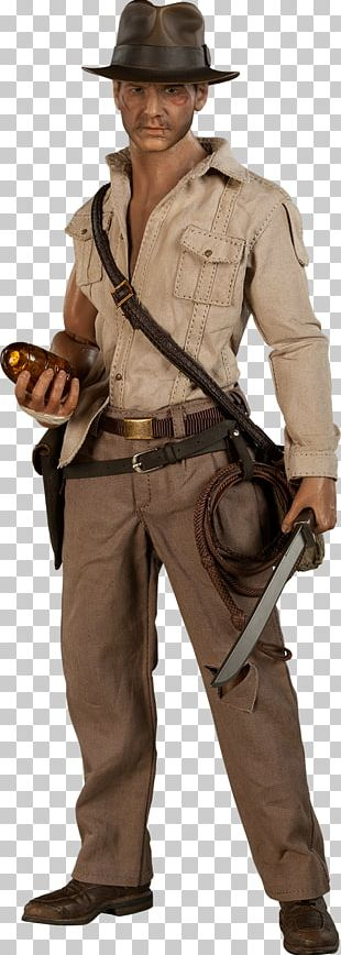 Harrison Ford Indiana Jones And The Temple Of Doom YouTube Sideshow Collectibles PNG