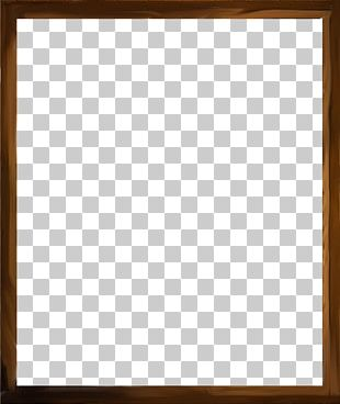 Square Frame Text Chessboard Wood Stain PNG