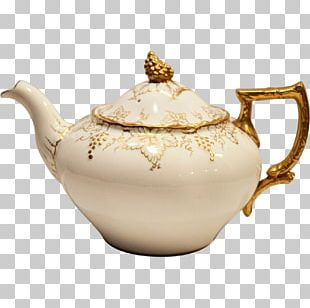 Teapot Tableware Porcelain Kettle PNG