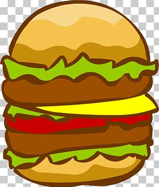 Hamburger Cheeseburger French Fries PNG