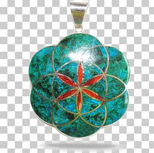 Turquoise Locket Christmas Ornament Emerald Jewellery PNG