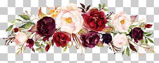Floral Design Flower Marsala Wine PNG