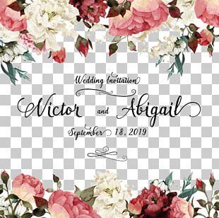 Wedding Invitation Greeting Card Flower Birthday PNG