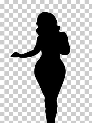 Woman Silhouette Female Body Shape Human Body PNG