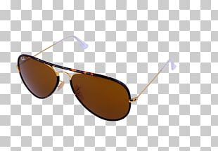 Aviator Sunglasses Ray-Ban Aviator Full Color PNG