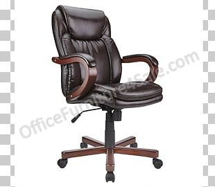 Office & Desk Chairs Swivel Chair Bicast Leather PNG