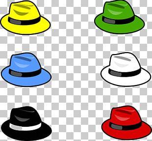 Six Thinking Hats Cap PNG