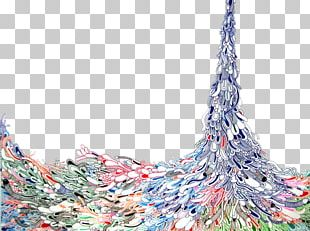 Abstract Art Drawing Oil Painting Illustration PNG