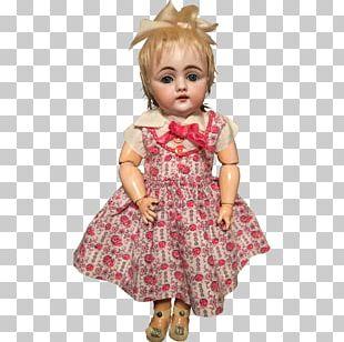 Human Hair Color Toddler Pink M Sleeve Dress PNG