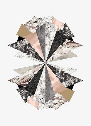 Geometric Triangle PNG